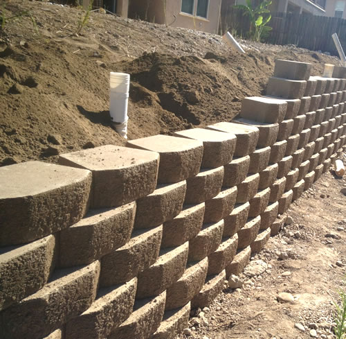 Retaining Wall Landscaping Contractor