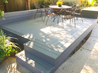 Trex and Wood Decking