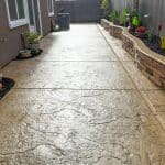 picture of stamped concrete