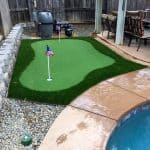 Picture of mini golf green