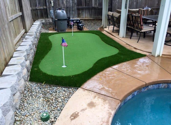 Picture of mini golf green