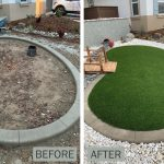 before after front yard