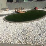 rock front yard