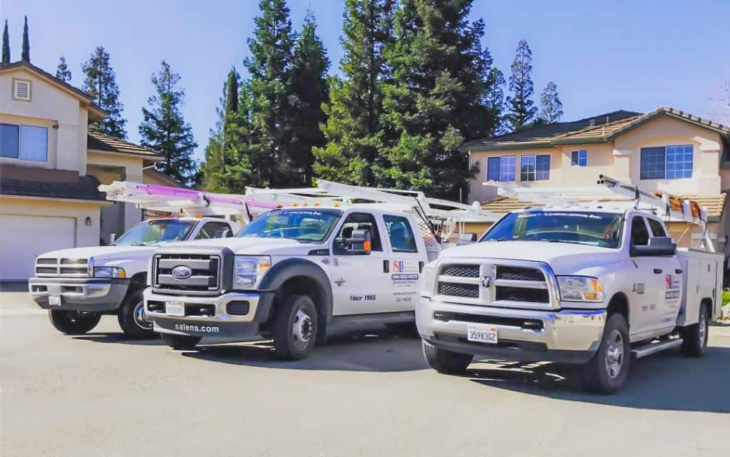 salen landscaping trucks